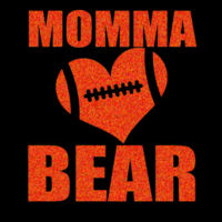 SR Bears Glitter Mom - Women's Ideal V - Women's Ideal V Design