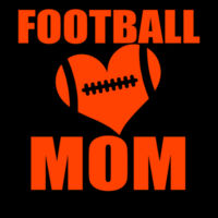 SR Bears Glitter Football Mom - Women's Ideal V - Women's Ideal V Design