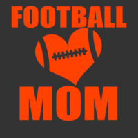 SR Bears Glitter Football Mom - Women's Ideal V - ® Ladies Heritage Blend Racerback Tank Design
