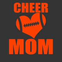 SR Bears Glitter Cheer Mom - Women's Ideal V - ® Ladies Heritage Blend Racerback Tank Design