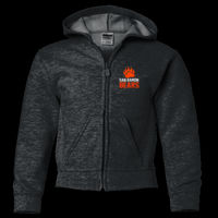 SR Bears Embroidered - Youth Heavy Blend ™ Full Zip Hooded Sweatshirt Thumbnail