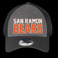 SR Bears Embroidered - Snapback Contrast Front Mesh Cap Thumbnail