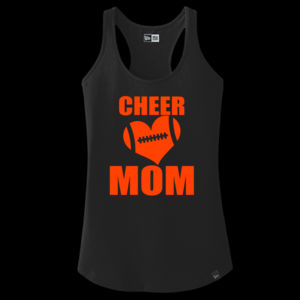 SR Bears Glitter Cheer Mom - Women's Ideal V - ® Ladies Heritage Blend Racerback Tank Thumbnail